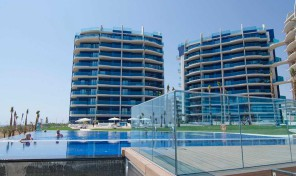Beach Front Line New Lux Apartments in Punta Prima.  Ref:ks0679