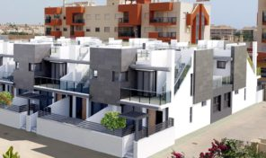 New Townhouses with optional Private Lift in Playa Flamenca. Ref:ks1096