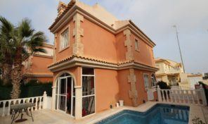 Detached Villa with Private Pool in Playa Flamenca.  Ref:ks1190