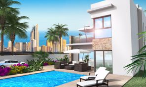 Amazing Views! Lux Villa in Benidorm.  Ref:ks1205