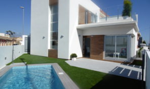 New Ultra Modern Semi-Detached Villas with Private Pool. Ref:ks1232