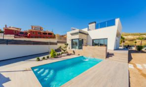 New Luxury Detached Villas in Benidorm.  Ref:ks1029