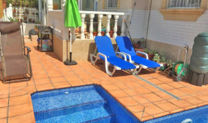 Semi-Detached Villa with Private Pool in La Florida.  Ref:ks1265