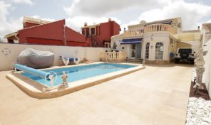 Detached Lux Villa with Pool & Gym in Torrevieja.  Ref:ks1286