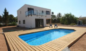 Modern Detached Villa with Large Plot in Torrevieja.  Ref:ks1284