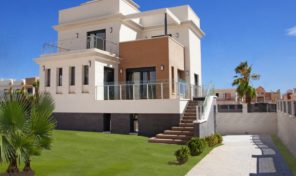 Superb New Modern Villa with Pool in La Zenia.  Ref:ks1287