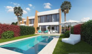 NEW MODERN Semi-Detached Villa in Los Dolses.  Ref:ks1367