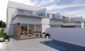 Great New Semi-Detached Villas with Private Pool in Daya Vieja.  Ref: ks1405