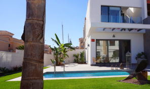 New Luxury Townhouse with Private Pool in Villamartin. Ref:ks1398