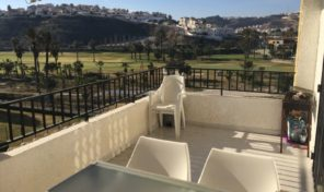 South Facing Top Floor Bungalow 1st Line Golf in Quesada.  Ref:ks1450