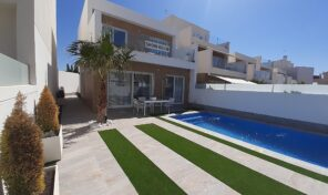 New Large Detached Villa with Private Pool in San Pedro del Pinatar.  Ref:ks1499