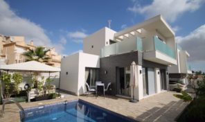 Modern Detached Villa with large Underbuild and Pool in Villamartin.  Ref:ks1514