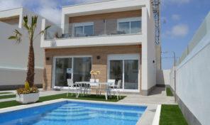New Large Detached Villa with Private Pool in San Pedro del Pinatar.  Ref:ks1499