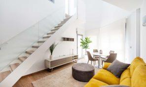 New Luxury Semi-Detached Villas 300m from Beach in Torrevieja.  Ref:ks1490