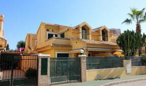 Luxury Beachside 4 bed Semi-Detached Villa in Campoamor.  Ref:ks1578