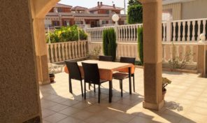 Large Plot Ground Floor Bungalow in Playa Flamenca.  Ref:ks1624