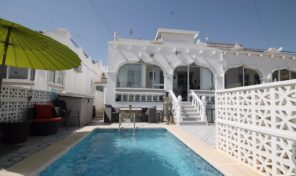 Semi-Detached Villa with Pool in San Miguel de Salinas.  Ref:ks1638