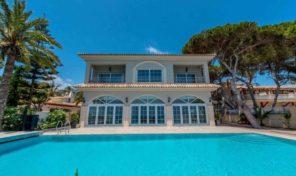 1st Line Luxury Villa with infinity Pool in Punta Prima.  Ref:ks1630