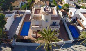 Large Beachside Villa in Cabo Roig.  Ref:ks1629