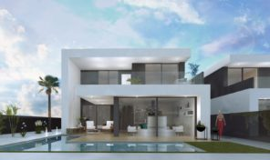 Amazing Large New Villa with Pool next to the Sea in San Javier. Ref:ks1621