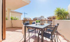 Luxury Penthouse next to the Sea in Punta Prima.  Ref:ks1666