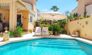 Great Detached Villa with Private Pool in Algorfa.  Ref:ks1797