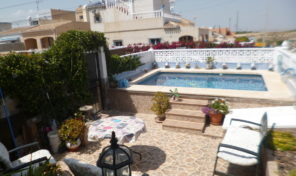 Bargain! Villa with Private Pool in San Miguel de Salinas. Ref:ks1861