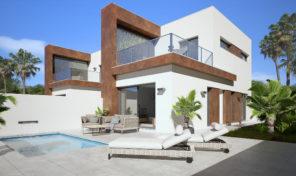 New Modern Semi- Detached Villa with Pool in Daya Nueva.  Ref:ks1906
