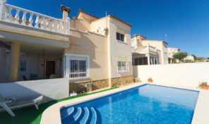 Bargain! Detached Villa with Private Pool in San Miguel de Salinas.  Ref:ks1910