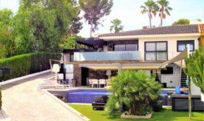 Modern Villa with Infinity Pool in Los Balcones.  Ref:ks1950