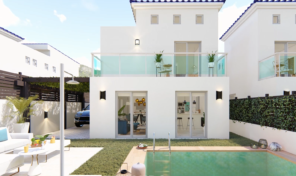 New Modern Detached Villa with Pool in Cox, Alicante.  Ref:ks1985