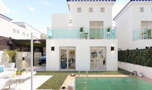 New Modern Detached Villa with Pool in Cox, Alicante.  Ref:ks1985