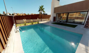 New Detached Villa One Level with Private Pool in Sucina.  Ref:ks2011