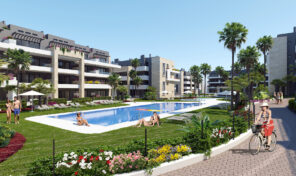New Modern Lux Apartments in gated area near Playa Flamenca Beach. Ref:ks2082