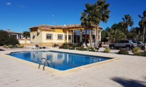 Great Offer! Large Villa with Massive Plot in Catral.  Ref:mks2146