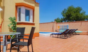 REDUCED!OFFER! Semi-Detached Villa with Private Pool in Cabo Roig.  Ref:ks2341