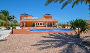 Massive Luxury Villa with Private Pool in Catral.  Ref:ks2390
