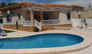 Large One Level Villa with Private Pool in San Miguel.  Ref:ks2399