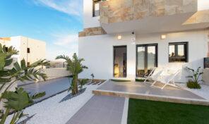 New Modern Detached Villa with Solarium in Polop, Alicante.  Ref:ks2377