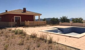 Lovely Country House with Private Pool in Pinoso. Ref:ks2477