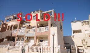 SOLD! 3 bed Duplex Penthouse  in Villamartin.  Ref:ks2539