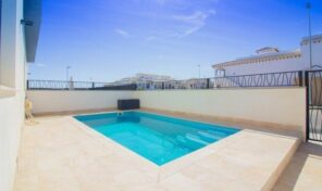 OFFER! Modern Semi-Detached Villa with Private Pool in Playa Flamenca. Ref:2666