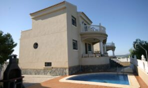 Amazing Views! Villa with Garage and Pool in Villamartin. Ref:ks2663