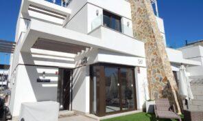 Great Modern Semi-Detached Villa with Private Pool in Playa Flamenca. Ref:ks2681