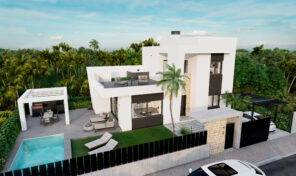 Great Modern Lux Villa with Pool Close to Beach in Punta Prima. Ref:ks2776